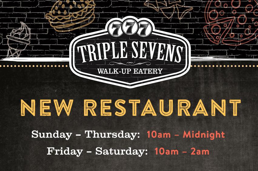 Triple Sevens Walk-Up Eatery– Thief River Falls