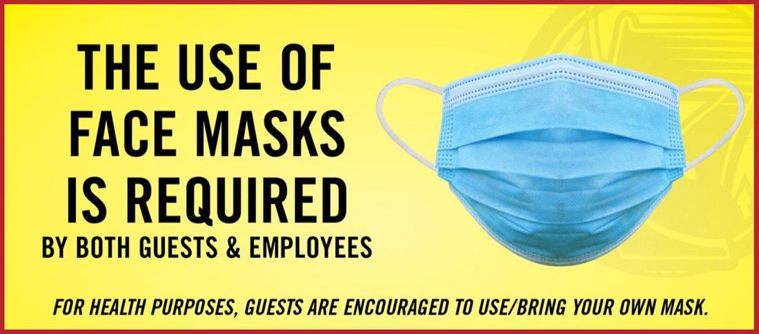 Casino mask mandatory rules