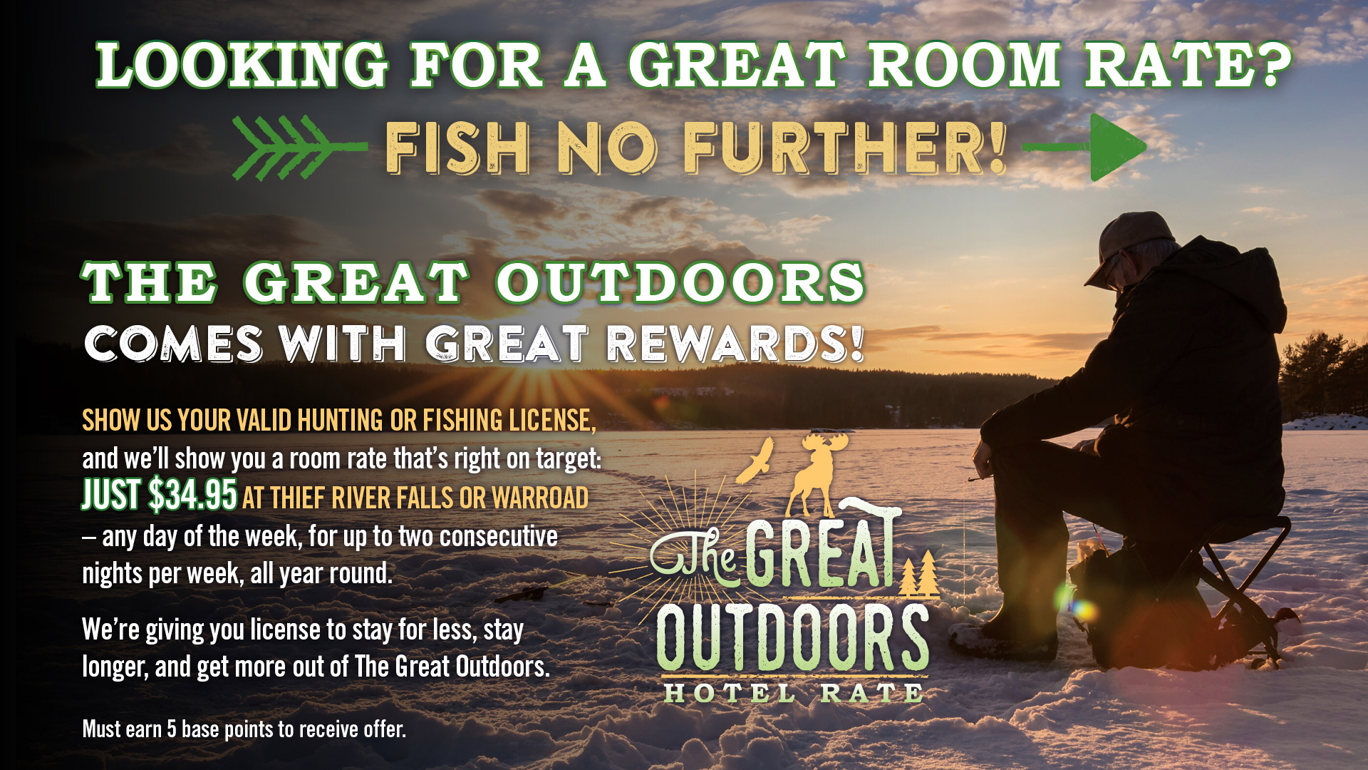 Great Outdoors Hotel Special